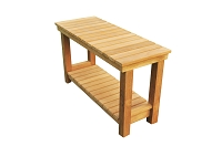 Busselton Teak Shower Bench 30
